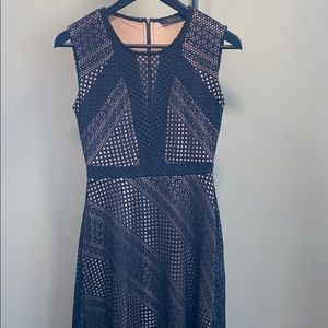 BCBGMAXAZRIA Black Tracie Black Dress: Size XXS